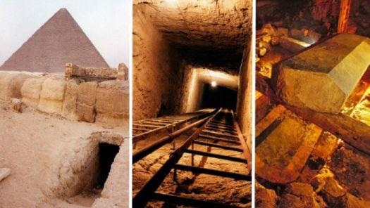 El misterioso eje de Osiris bajo las pirámides de Giza