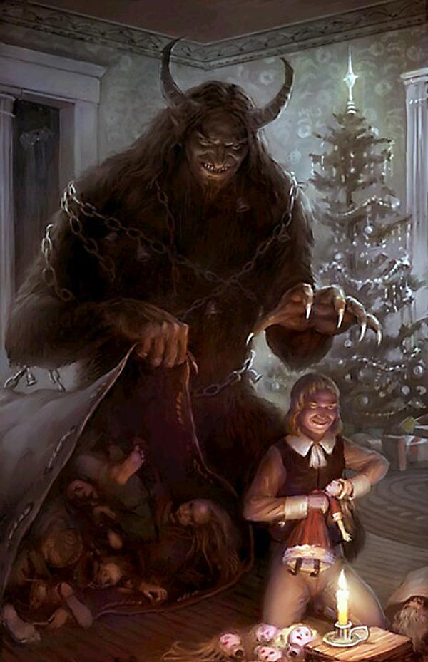 El Monstruo que Visitará Tu Casa en Navidad