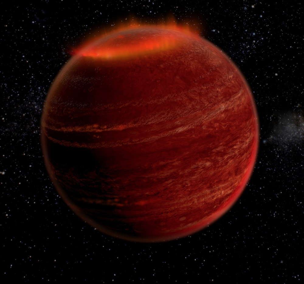 El planeta Rogue recientemente descubierto es un monstruo magnético gaseoso gigante