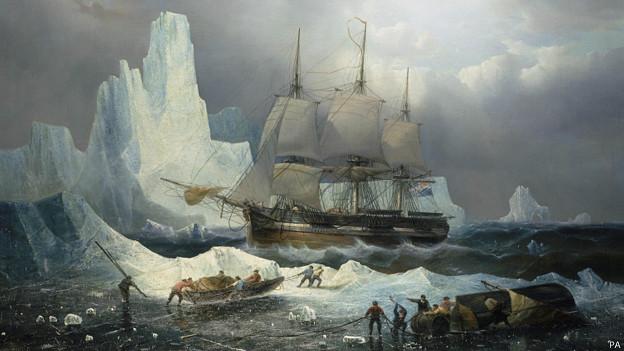 Encuentran barco británico desaparecido en el Ártico hace casi 170 años
