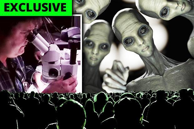Implantes alienígenas nanotecnología utilizada para controlar humanos