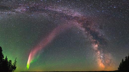 La enigmática 'aurora' STEVE podría ser un evento celestial diferente a lo que se creía hasta ahora