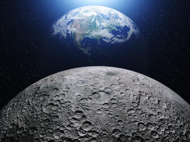 La historia de la Luna, nueva teoría