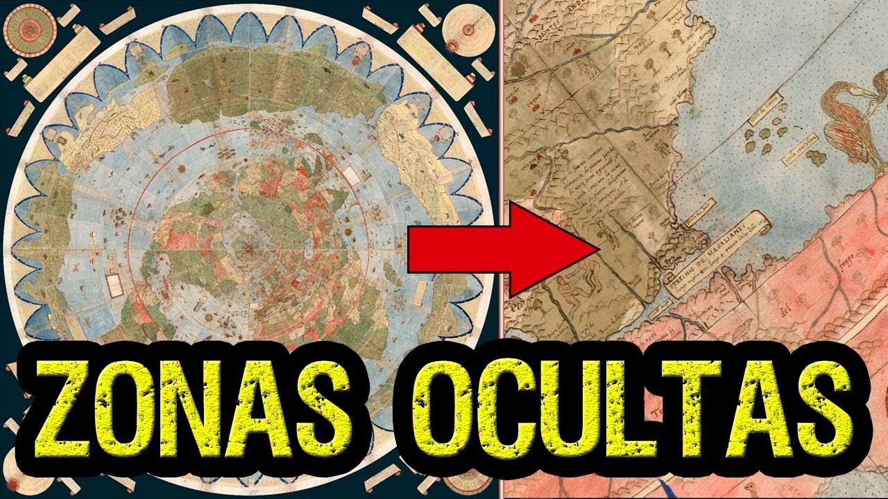 Mapa antiguo revela zonas ocultas De la tierra