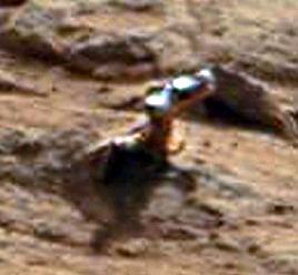 Objeto metálico en Marte - Curiosity