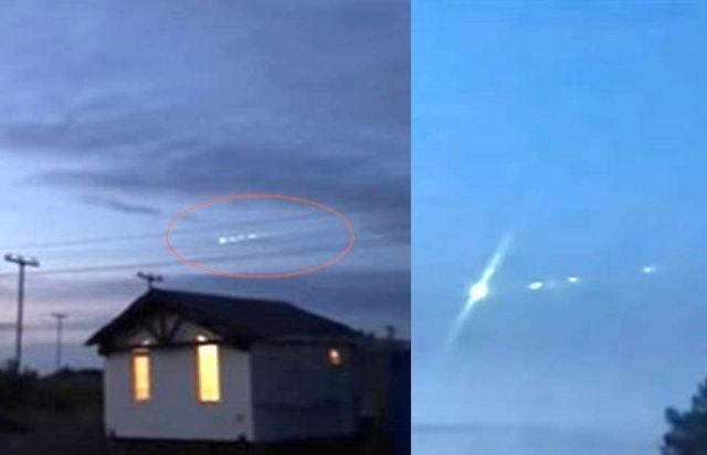 Objeto volador no identificado aterrizó en un área remota de Siberia occidental