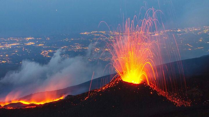 OVNIs en volcanes:  teorías y orígenes