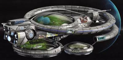 Podríamos mudarnos a otro planeta con una nave espacial como esta