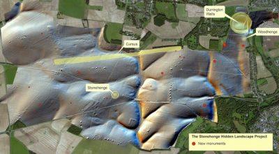 Stonehenge no es único: Hallan estructuras enigmáticas alrededor