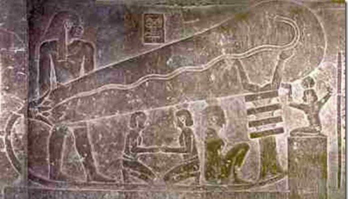 Trabajaban los antiguos egipcios a oscuras o tal vez no