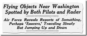 """Un ping de radar, un destello de luz: Cómo los ovnis """"explotaron"""" en la vista pública"""