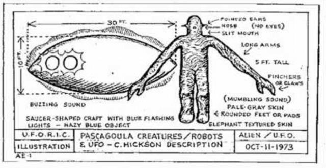 Pascagoula: Un Encuentro Cercano UFO 1973, Reconsiderado