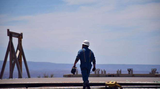 Un trabajador de la industria petrolera vio al OVNI y le tomó una foto