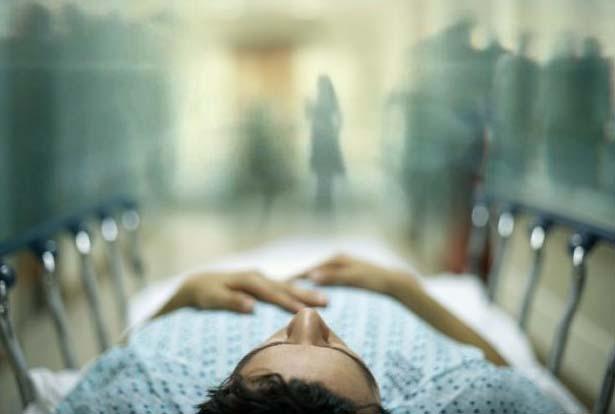 Extrañas visiones en el momento de la muerte