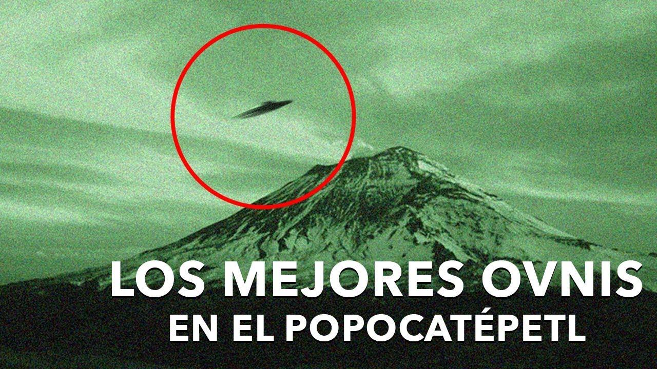 5 OVNIS Impresionantes captados en el Popocatépetl