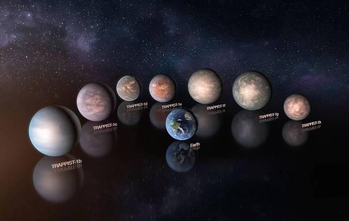 Algunos planetas de TRAPPIST-1 podrían tener más agua que la Tierra