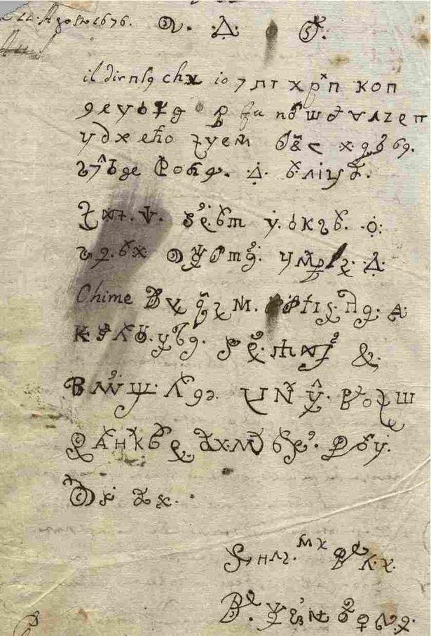 Carta escrita por una monja poseída por el demonio de hace 200 años sigue siendo todo un enigma aun para la comunidad científica