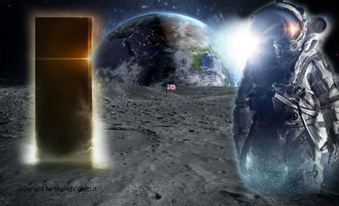 Cazador de ovnis descubre un «monolito» junto a 2 túneles en la superficie lunar