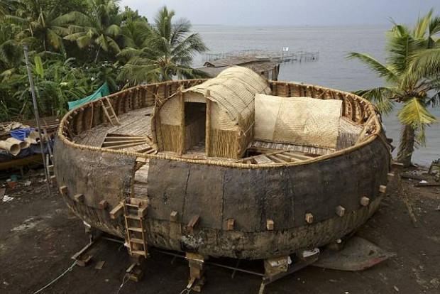 Construyen réplica del Arca de Noe basados en instrucciones de tablilla milenaria