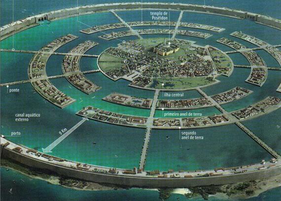Creen haber descubierto finalmente la Atlantida, nueva teoría asegura que no esta hundida en el mar