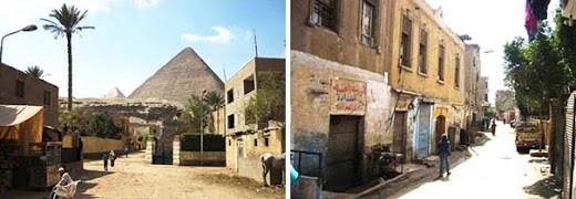 Destruyen una imagen alienígena en Nazlet, Egipto
