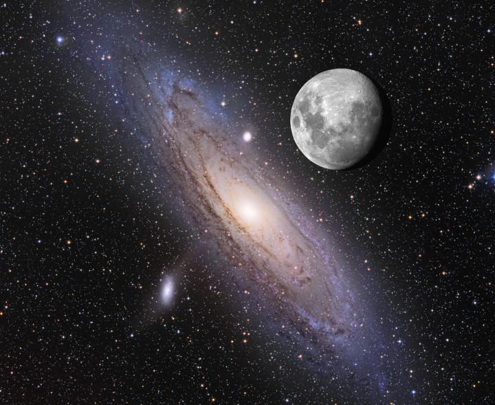 Dónde están?Los cosmólogos buscan en Andrómeda signos de vida alienígena