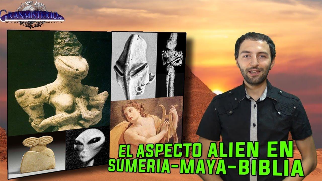 El aspecto Extraterrestre de Dioses SUMERIOS, MAYAS Y BÍBLICOS