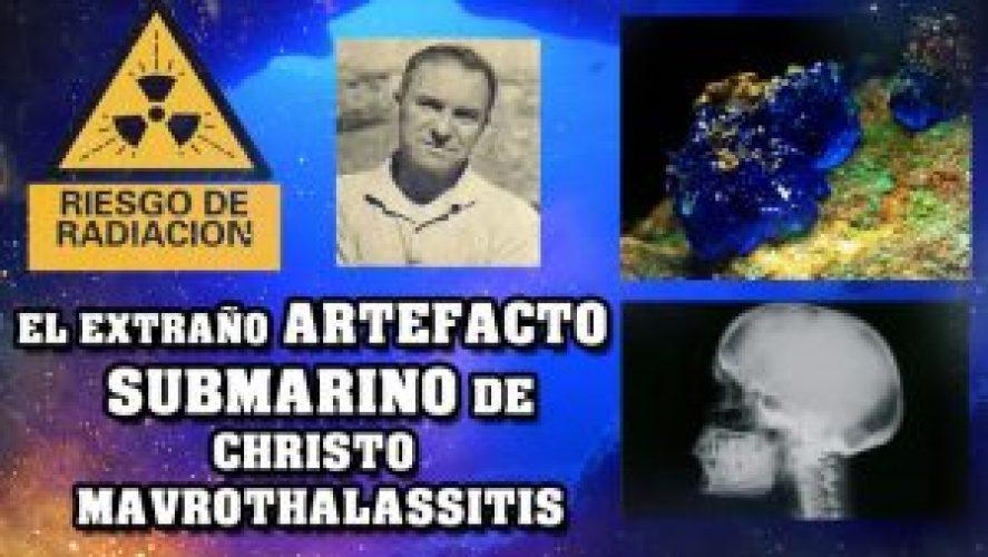 El extraño artefacto submarino de Christos Mavrothalassitis