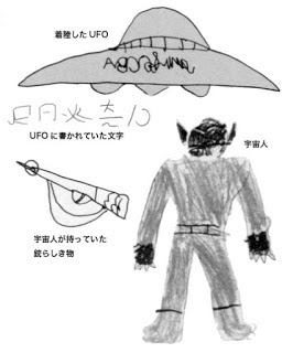 El Extraterrestre Con Colmillos Que Se Presentó A Dos NiñOs En JapóN