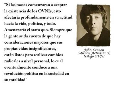 El OVNI de John Lennon