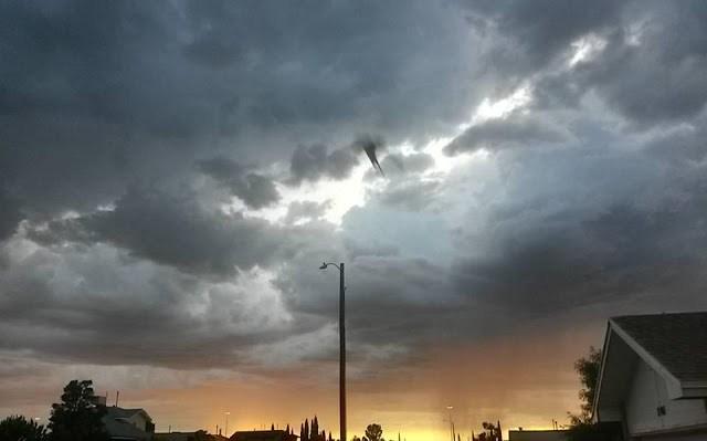 Extraña anomalía es captada en los sobre los cielos de El Paso, Texas