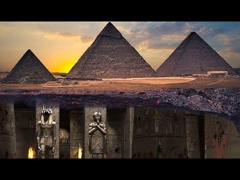 Hay una Ciudad subterránea debajo de las Pirámides de Giza