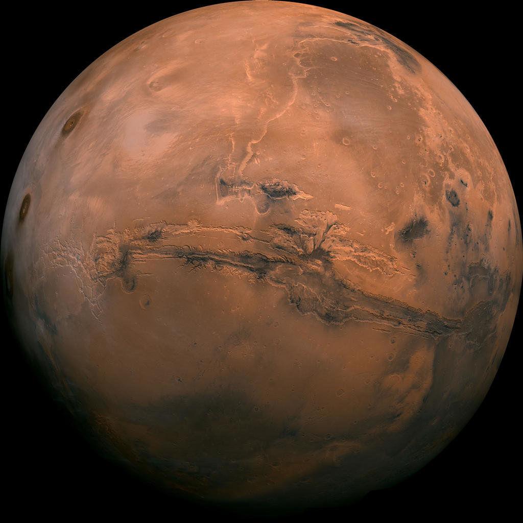 La antigua Marte era adecuada para la vida subterránea, los científicos