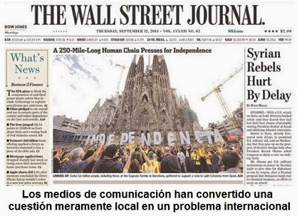 La consulta soberanista catalana: estrategia de la tensión al servicio del Nuevo Orden Mundial