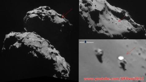La misteriosa foto de la Sonda Rosetta