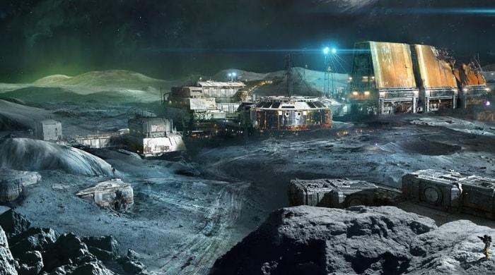 La NASA pretende construir una base lunar para explorar Marte