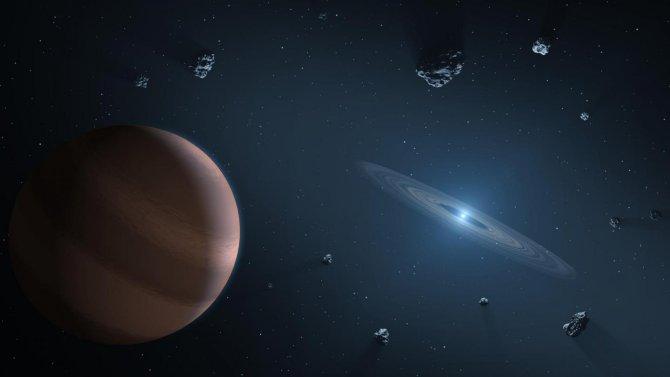 Los compuestos químicos detectados alrededor de estrellas lejanas denotan que los ingredientes de la Tierra son muy comunes