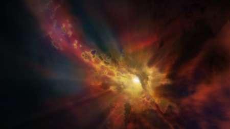 El flujo de gas galáctico más distante ha sido observado por los astrónomos