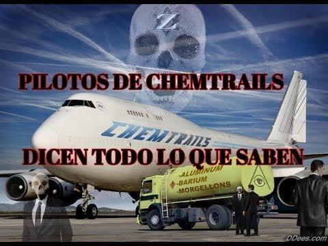PILOTOS DE CHEMTRAILS DICEN TODO LO QUE SABEN