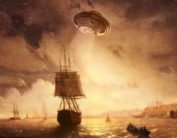 UFOLOGÍA: Colón y el ovni en el Triángulo de las Bermudas