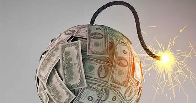 Oficialmente ahora hay 3 Veces Más Deuda en el Mundo que Dinero