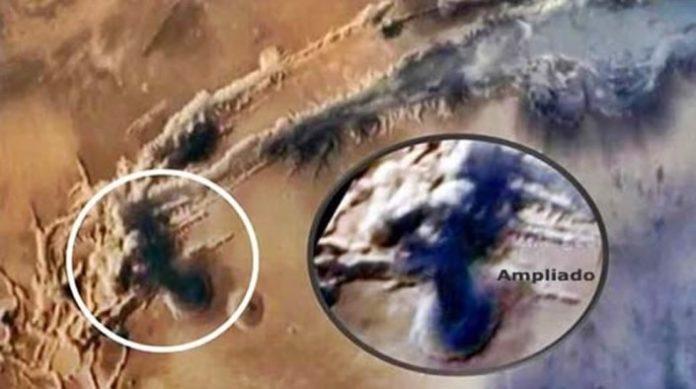 El misterio del posible ataque extraterrestre a Marte