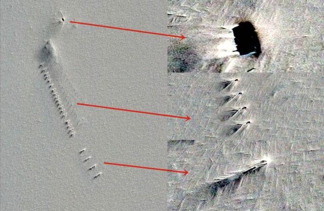 Base en la Antártida descubierta en Google Earth