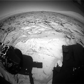 ¿Lo dicen en serio?: Un 'hombre que corre' aparece en una foto marciana de la NASA