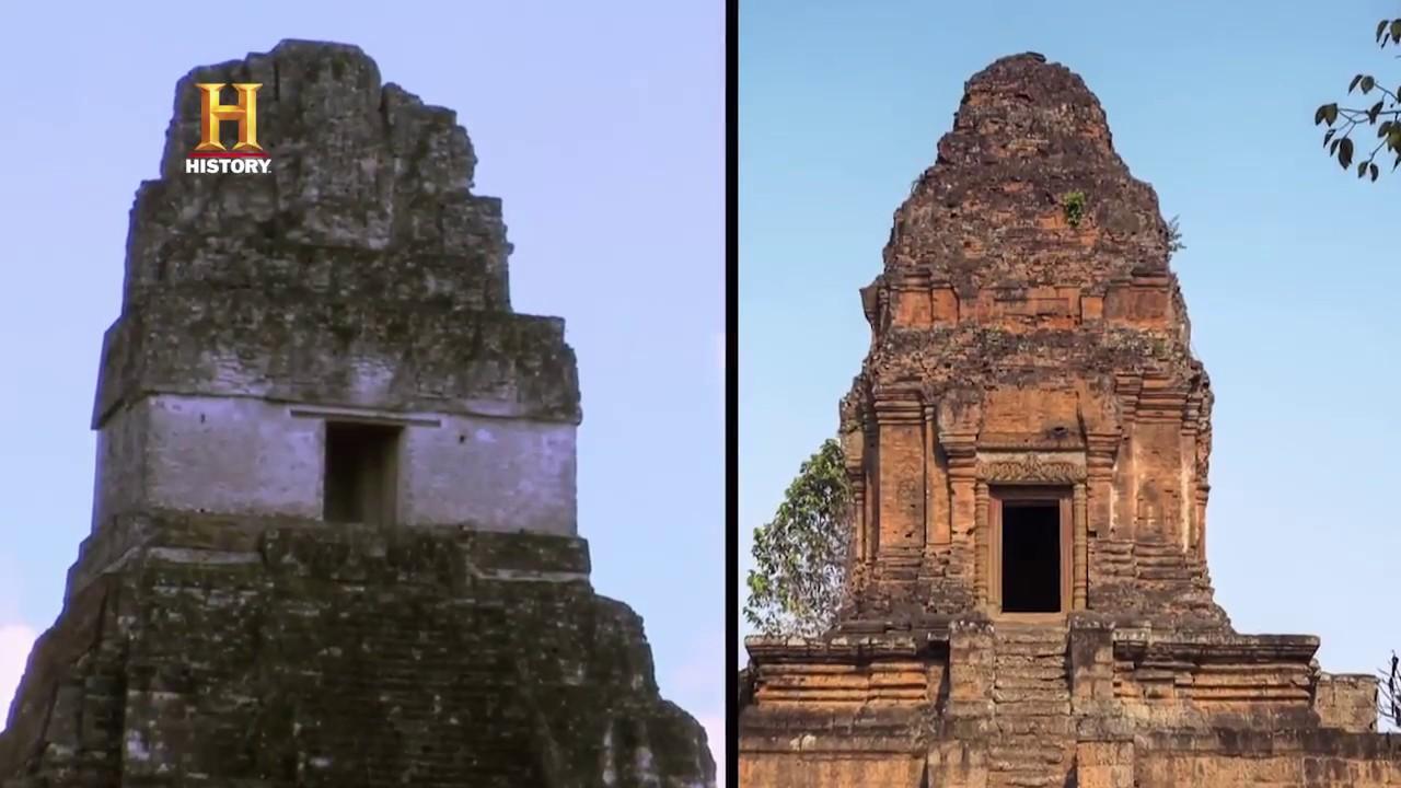 ALIENÍGENAS ANCESTRALES – Los templos gemelos de continentes distintos