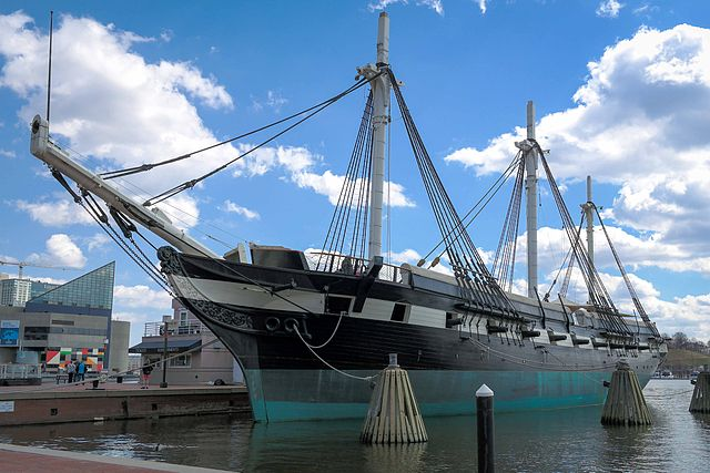 Apariciones fantasmales en la fragata USS Constellation