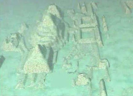 Atlantis: Las esfinges y pirámides gigantes halladas en el triángulo de las bermudas, por fin al descubierto.