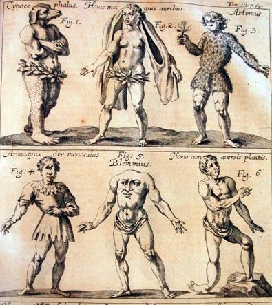 Colón esperaba encontrar «monstruos» en el nuevo mundo