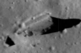 Construcciones extraterrestres sobre la Luna