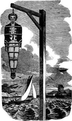 El despiadado castigo utilizado por los ingleses para dar ejemplo Gibbeting